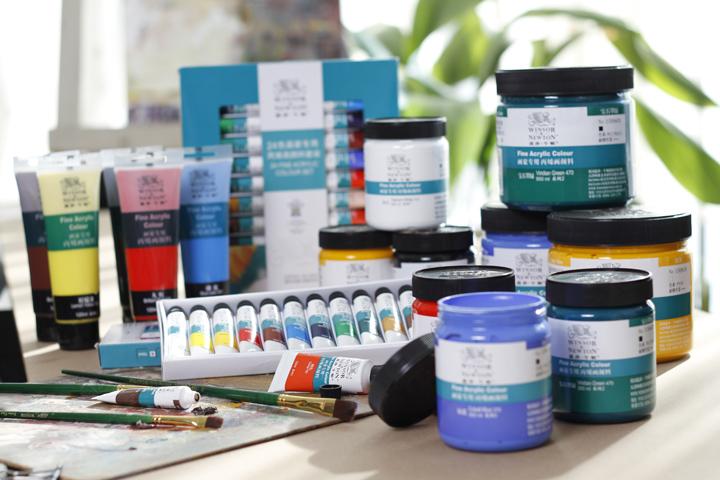 画家专用丙烯颜料